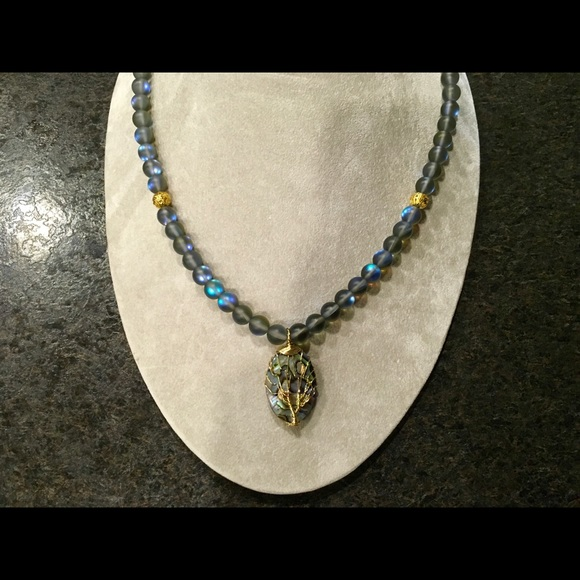 Hand Crafted Jewelry - Tree of life pendant necklace